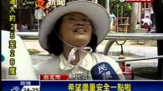 媒體報導:林世宗議員抨擊公務員不作為,天降橫禍,社子公園椰子葉砸老翁頭破血流---民視電視台
