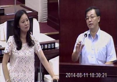 20140811吳思瑤質詢軟橋正名,郝龍斌應尊重歷史!