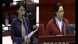 20150417(簡舒培議員)民政部門質詢