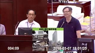 180507李建昌於交通部門 - 爭取「成德立體停車場」改建多目標停車場