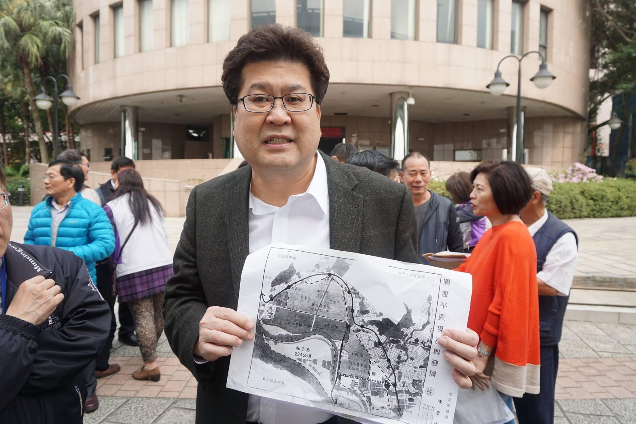 20160330柯市長視察關渡平原