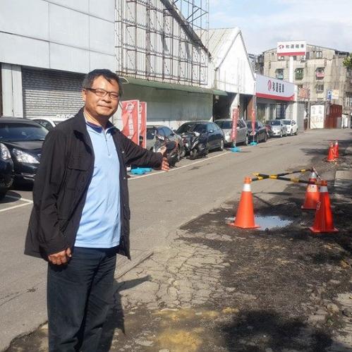 (會勘)南港區合成里路面破損修護