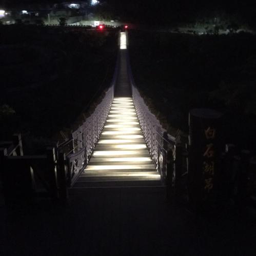 (會勘)白石湖吊橋夜間點燈