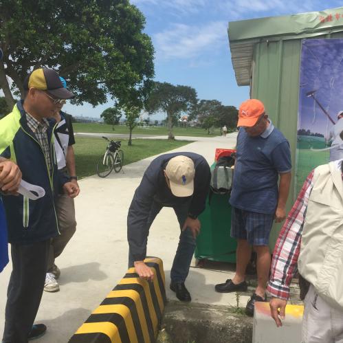 (會勘)為美堤河濱公園木球場評估加設乙組水龍頭,以利使用者清洗球具案
