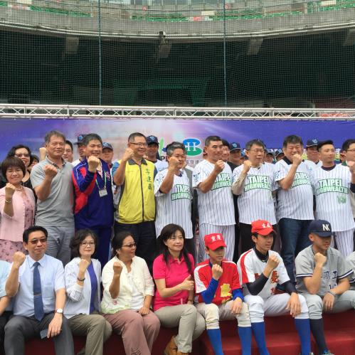 台北市棒球隊 企業冠名-興富發 合作宣告記者會