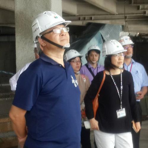 市政參訪- 士林區台北藝術中心進度